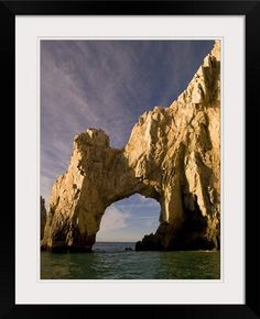 GreatBIGCanvas Archway El Arco Cabo San Lucas Mexico by Keith Levit Photographic Print with black Frame 18 X 24 >>> You can find more details by visiting the image link.Note:It is affiliate link to Amazon.