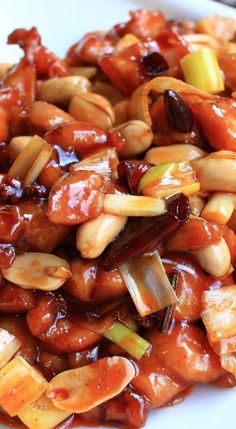 Kung Pao Chicken Recipe - Use GF Soy Sauce to make it gluten free