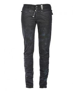 """MAESTRO: 6-Taschen-Jeans aus Winterdenim """"Volcanic-blue""""."""