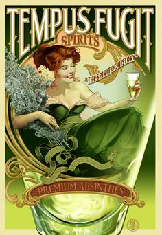 Tempus Fugit is an importer of newly legalized absinthes to the US.