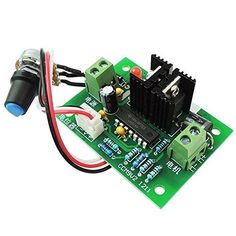 12V-40V DC PWM Motor Speed Controller Reversible Switch 3A 120W MAX