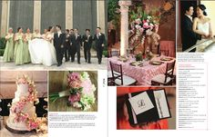 Wedding coordinated by Resha Zazueta of Something to Celebrate, featured in The Knot  , Texas - Fall/Winter 2013 issue.