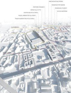 Cremona City Hub - Riqualificazione dell'ambito di trasformazione ex Annonaria / pietro chierici, Emilio Faroldi Associati, Dario Cea, Jacobs Italia S.p.a., Cremona (CR), Italia
