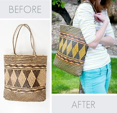 COLOR your bags for summer with Tumble Dye