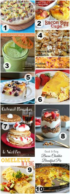 My Favorite Brunch Recipes - Events To Celebrate