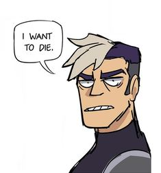 Shiro's reaction when someone says they want Lancelot to be canon