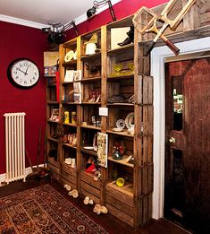 Mary Portas Living and Giving Charity Shop - Interior