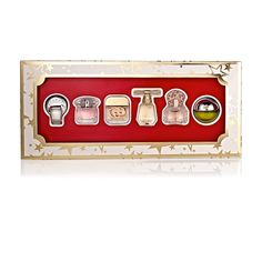 100% Authentic Macy's Women's 6-Piece Mini Perfume Gift Set, Travel |NEW!|  | eBay