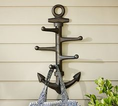 Oversized Anchor Hook #potterybarn