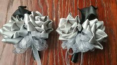 Check out this item in my Etsy shop https://www.etsy.com/listing/490578168/corsage-bourtinierre-gray-flowers-black