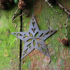 Patinated Metal Star Decoration