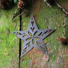 Patinated Metal Star Decoration