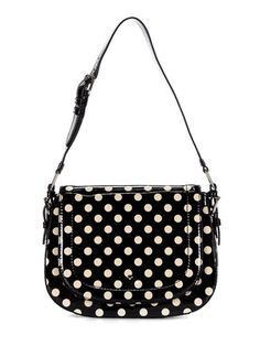 Kate Spade NY polka dot patent leather shoulder bag normally $328 - on sale today for $189
