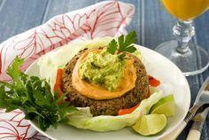 Gluten Free Vegan Chipotle Black Bean & Quinoa Burgers Recipe