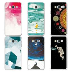 Couple Phone Case For Samsung A5 2016, 14 Patterns Universe Planet Astronauts Design Coque For Samsung Galaxy A5 2016 A510 A5100