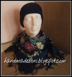 HandmadeBoni: Małe i czarne Conieco czyli opaski na głowę.