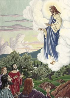 Acts 1:9-11 - Jesus' Ascension into Heaven