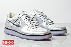 d618d88fdf11 Nike Air Force 1 Downtown Silver Nike Air Force