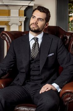Henry Cavill - Dunhill and Mini Clubman Photoshoot by Andy Fallon (x)