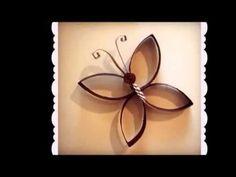 Flor de Rolo de Papel Higiênico 2 - YouTube