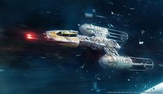 Y-Wing firing photon torpedo. Card art for Star Wars X-Wing: Most Wanted expansion pack. © 2014 Fantasy Flight Games SW Most Wanted: Y-Wing Nave Star Wars, Star Wars Rpg, Star Wars Ships, Star Trek, V Wings, Star Wars Spaceships, Star Wars Vehicles, Star Wars Concept Art, Sci Fi Ships