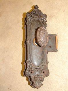 Antique Door Knobs   Spindles U0026 Set Screws    Door Knob Back Plates   