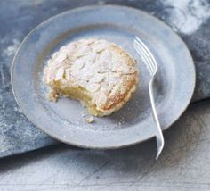 A twist on the classic cherry Bakewell, these mini citrus-flavoured pies are an elegant dessert choice, from BBC Good Food. Lemon Recipes, Sweet Recipes, Baking Recipes, Dessert Recipes, French Recipes, Italian Recipes, Cake Recipes, Sweet Pie, Sweet Tarts