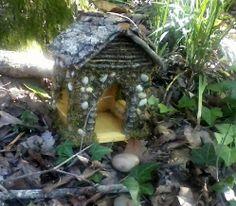 Birdhouse to Fairy House Tutorial ♥