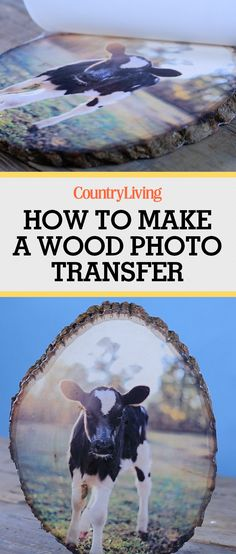 Rustic DIY photo transfer - I love this idea so much! Photo To Wood, Picture On Wood Diy, Picture Craft, Photo Craft, Diy Photo, Photo Projects, Diy Projects To Try, Crafts To Make, Fun Crafts