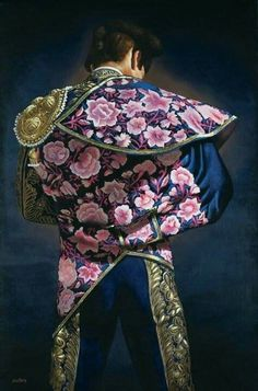 turning a queer eye to art Matador Costume, Fake Tattoo, Mexico Art, Fashion D, Traditional Paintings, Belly Dancers, Traditional Dresses, Lgbt, Captain Hat