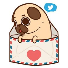 I've upgraded from the Puglie Pals Newsletter to a Twitter now :] So if you want to keep instantly up to date on sales events adventures and general farting about follow [at]PugliePug on Twiiter :D by pugliepug