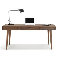 via BKLYN contessa | atelier ndd | 64-inch Solid Wood Desk | Overstock.com $969.29