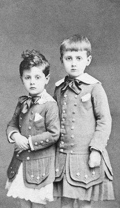 Marcel e Robert Proust #DiadaCriança