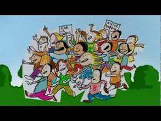 CANTIAMO LA GRAMMATICA - Attenzione alle doppie - Canzoni per bambini di Mela Music - YouTube Primary Teaching, Italian Language, Family Guy, Classroom, Teacher, Cartoon, Comics, Learning, School