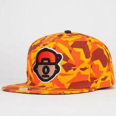 Trukfit Truk Da Wurl Mens Strapback Hat Red One Size For Men 222607300