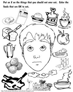 Joseph Smith and the First Vision. Primary Coloring Page #