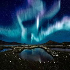 Northern lights, Iceland. Definitely on my to do list!