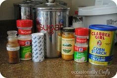 Occasionally Crafty: Making My Own- Lawrys Seasoned Salt (no msg)