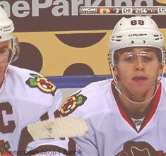 Jonathan Toews and Patrick Kane what are they plotting?