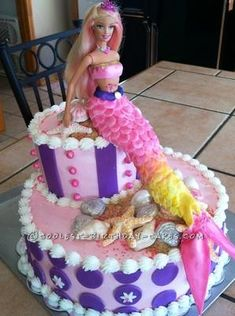 Coolest Merliah, Barbie, Birthday Cake