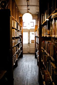 This picture reminds me of the old Carnegie Library in Enid, OK. When my brother and I were growing up, Mom would drop us off there. I spent many a blissful afternoon perusing the books. The floor was perfectly squeaky :)