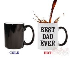 Best Dad Ever Color Change Coffee Mug