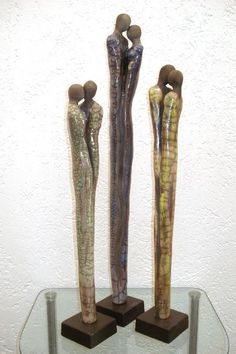 Most up-to-date Photos Ceramics sculpture raku Suggestions raku angle Abstract Sculpture, Wood Sculpture, Sculptures, Raku Pottery, Cement Art, Ceramic Clay, Wire Art, Decorative Objects, Clay Art