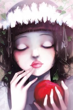Snow white by Ludovic Jacqz, via Behance