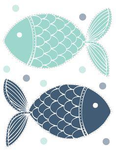 Free Printable -April Fools Fishes