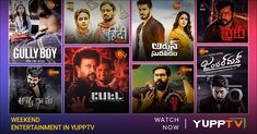 YuppTV Blog: Spend the Weekend with Astonishing- High-Rated Ico... Ustad Hotel, Kalki Koechlin, Hindi Medium, Irrfan Khan, Blockbuster Film, Thriller Film, Tv Channels, Action Film, Great Films