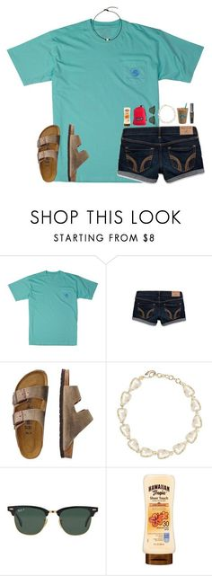 """FOLLOW ELLA, 1 AWAY FROM 1.5K"" by lydia-hh ❤ liked on Polyvore featuring Southern Proper, Hollister Co., TravelSmith, Kendra Scott and Ray-Ban"