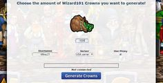 Game called Wizard101, How to get Free Crowns on it  Wizard101 is very popular online MMORPG game created by KingsIsle Entertainment.