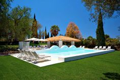 Discover the unspoilt Algarve with a stay at Vila Monte Farm House, a charming rural hotel with designer interiors and superb amenities. Faro Portugal, Hotels Portugal, Garden Swimming Pool, Swimming Pools, Hotels And Resorts, Best Hotels, Luxury Hotels, Piscina Hotel, Places Around The World