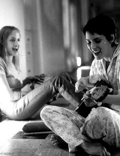 Angelina & Winona Girl, Interrupted.